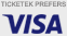 Ticketek prefers Visa