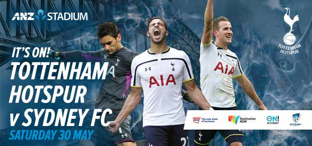 tottenham hotspur tickets sydney - photo#4