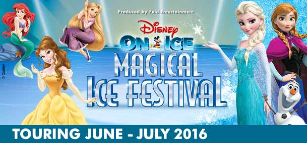 Disney On Ice presents Dare to Dream brings two of Disney's most popular modern princess stories - Tangled and The Princess and the Frog as well as the ever-popular fairy tales of Snow White and the Seven Dwarves and Cinderella, together on ice.