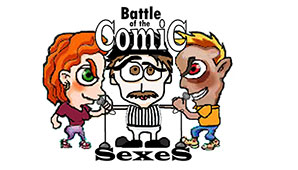A Battle Of The Comic Sexes M vs F