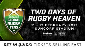 Brisbane Global Rugby Tens 2 Day Pass