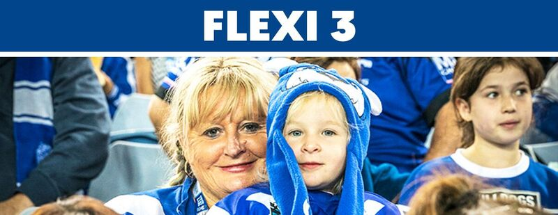 FLEXI Season (3 ANZ Home Game)