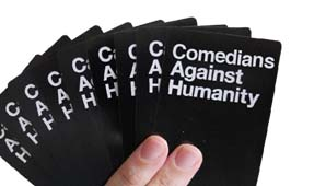 Comedians Against Humanity Host - Yianni Agisilaou