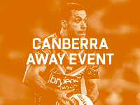 Canberra Away Event