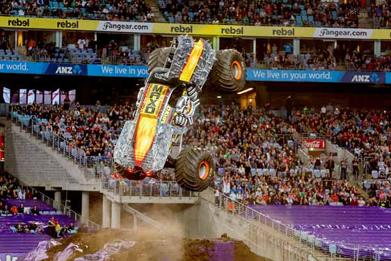 monster jam sydney pitpass gurmit - photo#23