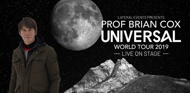 Professor Brian Cox - Universal World Tour 2019