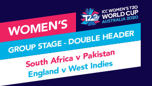South Africa v Pakistan, England v West Indies
