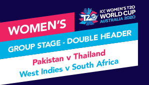 Pakistan v Thailand, West Indies v South Africa