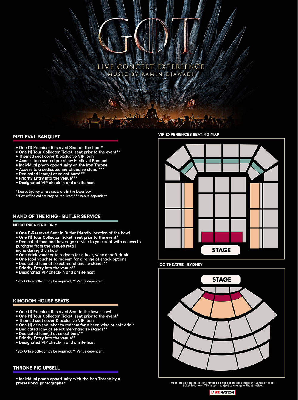 Game of Thrones - Live Concert Experience Tickets | Official