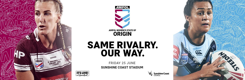 Ampol Women S State Of Origin 2021 Tickets Sunshine Coast Stadium Ticketek Australia