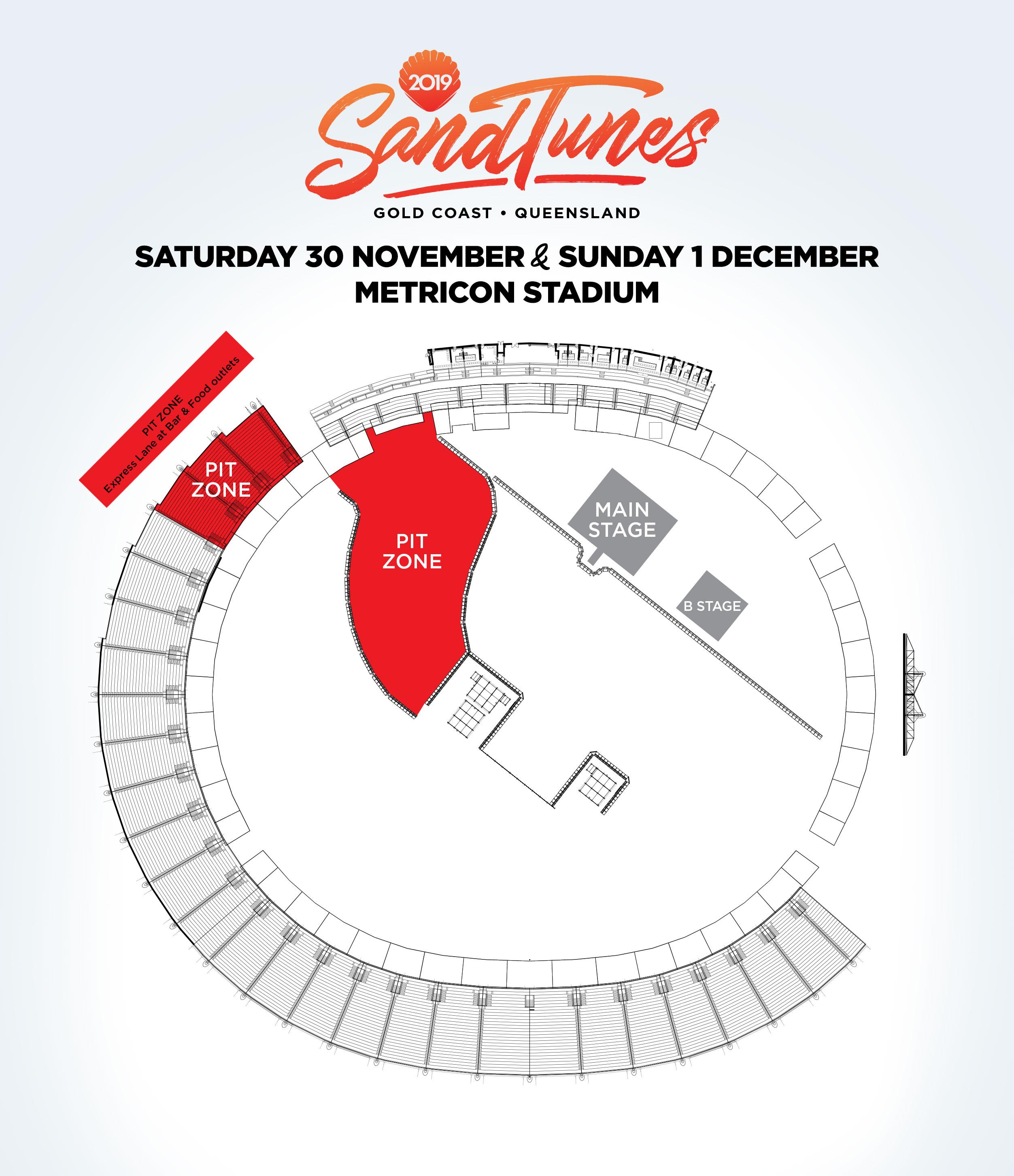 SandTunes Festival Venue Change Sat 30 Nov - Sun 1 Dec